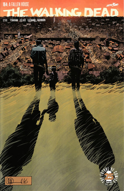 Cover for The Walking Dead (Image, 2003 series) #164 [Image Tribute Cover]