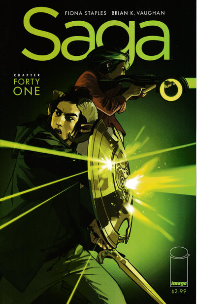 Cover for Saga (Image, 2012 series) #41