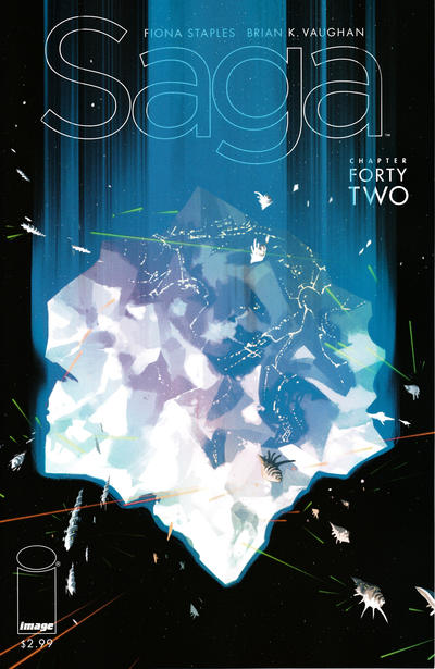 Cover for Saga (Image, 2012 series) #42