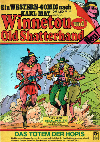 Cover for Winnetou und Old Shatterhand (Condor, 1977 series) #15