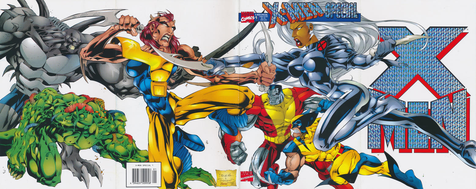 Cover for X-Men Special (Panini Deutschland, 1998 series) #1 [Andy-Kubert-Cover]