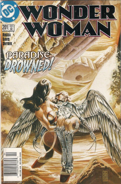 Cover for Wonder Woman (DC, 1987 series) #201 [Direct Sales]
