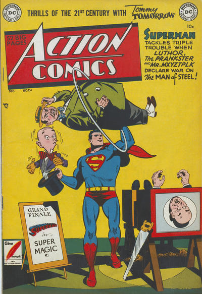 Cover for Action Comics (DC, 1938 series) #151
