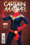 Cover Thumbnail for Captain Marvel (2016 series) #1 [Cosplay Photo Variant]