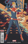 Cover Thumbnail for Captain Marvel (2016 series) #1 [Second Printing Variant]