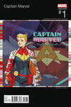 Cover Thumbnail for Captain Marvel (2016 series) #1 [Marguerite Sauvage Hip-Hop Variant]