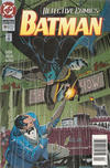Cover for Detective Comics (DC, 1937 series) #684 [Newsstand]