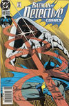 Cover for Detective Comics (DC, 1937 series) #616 [Newsstand Edition]