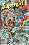Cover for Supergirl (DC, 1983 series) #18 [Newsstand Edition]