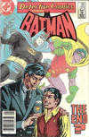 Cover Thumbnail for Detective Comics (1937 series) #542 [newsstand]