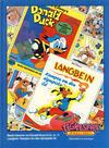 Cover for Tegneseriebokklubben (Hjemmet / Egmont, 1985 series) #42 - Beste historier fra Donald Duck & Co. nr. 11; Langbein: Kampen om den olympiske ild