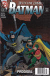 Cover for Detective Comics (DC, 1937 series) #681 [Newsstand Edition]