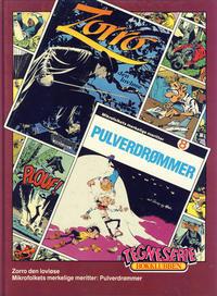 Cover Thumbnail for Tegneseriebokklubben (Hjemmet / Egmont, 1985 series) #72 - Mikrofolkets merkelige meritter: Pulverdrømmer; Zorro den lovløse
