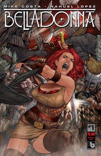 Cover Thumbnail for Belladonna (Avatar Press, 2015 series) #1 [Kickstarter Reward - Christian Zanier]