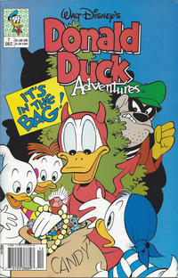 Cover Thumbnail for Walt Disney's Donald Duck Adventures (Disney, 1990 series) #7 [Newsstand]