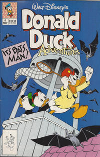 Cover Thumbnail for Walt Disney's Donald Duck Adventures (Disney, 1990 series) #6 [Direct]