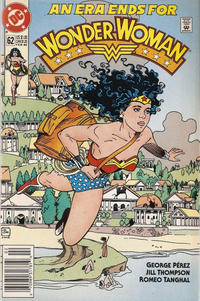 Cover for Wonder Woman (DC, 1987 series) #62 [Direct Edition]