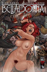 Cover Thumbnail for Belladonna (Avatar Press, 2015 series) #1 [Kickstarter Reward Nude - Christian Zanier]