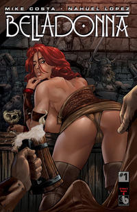 Cover Thumbnail for Belladonna (Avatar Press, 2015 series) #1 [Kickstarter Nude and Naughty A - Christian Zanier Cover]