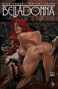 Cover Thumbnail for Belladonna (Avatar Press, 2015 series) #1 [Kickstarter Nude and Naughty B - Christian Zanier Cover]