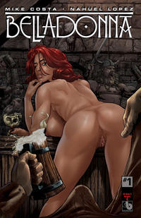 Cover Thumbnail for Belladonna (Avatar Press, 2015 series) #1 [Kickstarter Nude and Naughty C - Christian Zanier Cover]