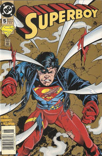 Cover Thumbnail for Superboy (DC, 1994 series) #5 [Newsstand]
