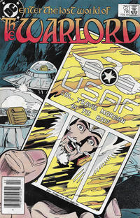 Cover for Warlord (DC, 1976 series) #78 [Direct-Sales]