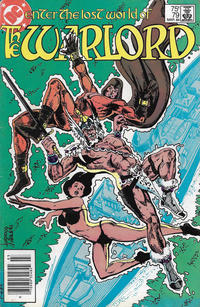 Cover for Warlord (DC, 1976 series) #79 [direct-sales]