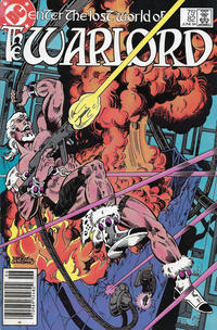 Cover for Warlord (DC, 1976 series) #82 [direct-sales]