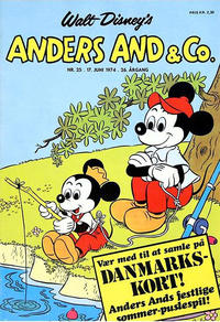 Cover Thumbnail for Anders And & Co. (Egmont, 1949 series) #25/1974