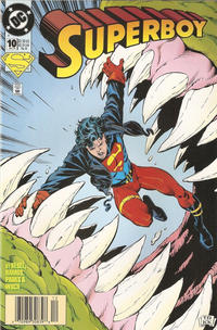 Cover Thumbnail for Superboy (DC, 1994 series) #10 [Newsstand]
