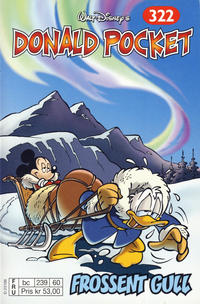 Cover for Donald Pocket (Hjemmet / Egmont, 1968 series) #322 - Frossent gull [1. opplag]