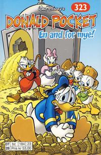 Cover Thumbnail for Donald Pocket (Hjemmet / Egmont, 1968 series) #323 - En and for mye! [1. opplag]