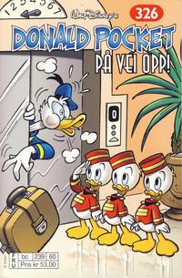 Cover Thumbnail for Donald Pocket (Hjemmet / Egmont, 1968 series) #326 - På vei opp! [bc 239 60 FRU]