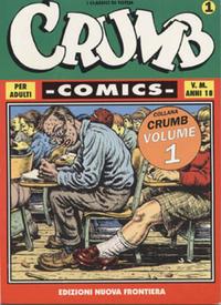 Cover Thumbnail for Crumb Comics (Edizioni Nuova Frontiera, 1998 ? series) #1