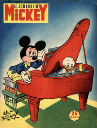 Cover Thumbnail for Le Journal de Mickey (Disney Hachette Presse, 1952 series) #11