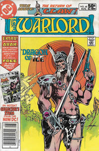 Cover for Warlord (DC, 1976 series) #48 [Direct Edition]