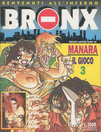 Cover Thumbnail for Bronx (Edizioni Nuova Frontiera, 1994 series) #7