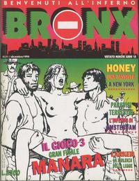 Cover for Bronx (Edizioni Nuova Frontiera, 1994 series) #11