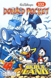 Cover Thumbnail for Donald Pocket (Hjemmet / Egmont, 1968 series) #332 - Skrueland [1. opplag]