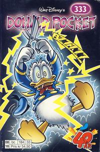 Cover Thumbnail for Donald Pocket (Hjemmet / Egmont, 1968 series) #333 - Bzzzzz [1. opplag]