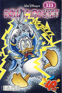 Cover Thumbnail for Donald Pocket (Hjemmet / Egmont, 1968 series) #333 - Bzzzzz [bc 239 59 FRU]