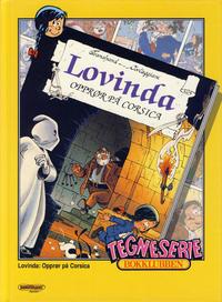 Cover Thumbnail for Tegneseriebokklubben (Hjemmet / Egmont, 1985 series) #75 - Langbein album nr. 2: Langbein Columbus; Lovinda: Opprør på Corsica