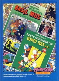 Cover Thumbnail for Tegneseriebokklubben (Hjemmet / Egmont, 1985 series) #37 - Beste historier fra Donald Duck & Co. nr. 10; Mesterdetektiven Basil Mus nr. 3