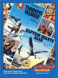 Cover Thumbnail for Tegneseriebokklubben (Hjemmet / Egmont, 1985 series) #40 - Jules Verne: Tsarens kurér; Jules Verne: Kaptein Grants barn