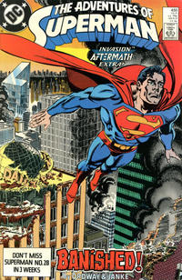 Cover Thumbnail for Adventures of Superman (DC, 1987 series) #450 [Direct]