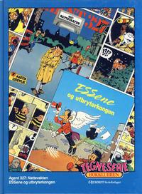 Cover Thumbnail for Tegneseriebokklubben (Hjemmet / Egmont, 1985 series) #41 - Agent 327: Nattevakten; ESSene og utbryterkongen