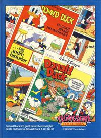 Cover Thumbnail for Tegneseriebokklubben (Hjemmet / Egmont, 1985 series) #43 - Donald Duck: En godt bevart hemmelighet; Beste historier fra Donald Duck & Co. nr. 35