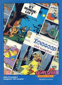 Cover Thumbnail for Tegneseriebokklubben (Hjemmet / Egmont, 1985 series) #44 - Attila: Et hundeliv?; Iznogood: 1001 komplott