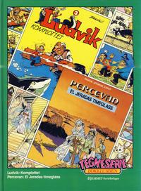 Cover Thumbnail for Tegneseriebokklubben (Hjemmet / Egmont, 1985 series) #49 - Ludvik: Komplottet; Percevan: El Jeredas timeglass